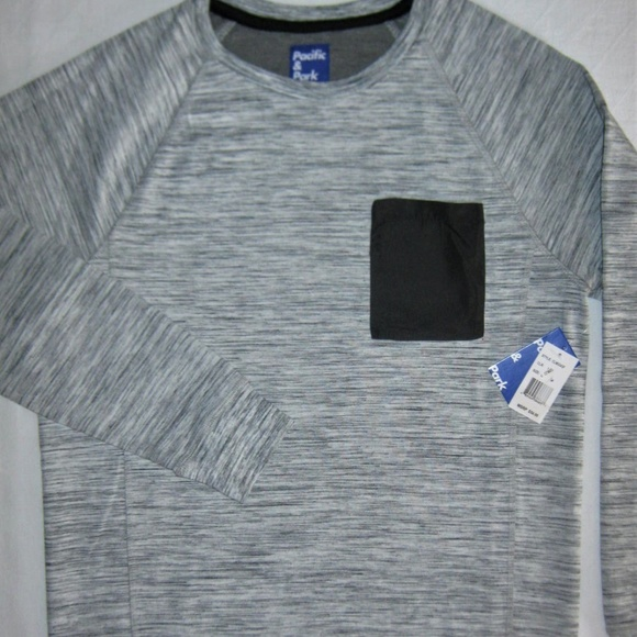 Pacific & Park Other - Pacific Park Chest-Pocket Spacedyed Sweatshirt XL